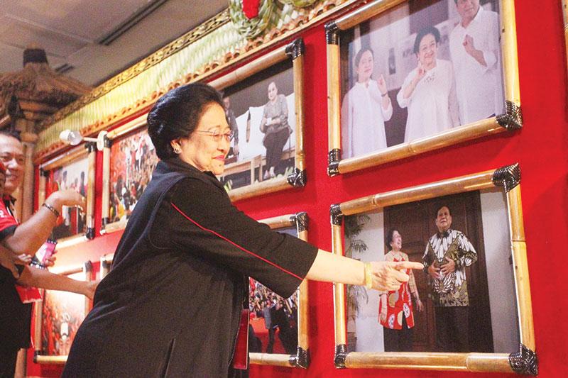 Megawati: Sekarang Prabowo Deketin Saya