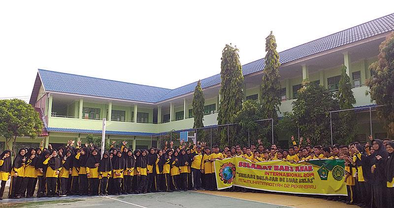 SDN 005 Langgini Bangkinang Kota Deklarasikan sebagai Sekolah Ramah Anak 2019