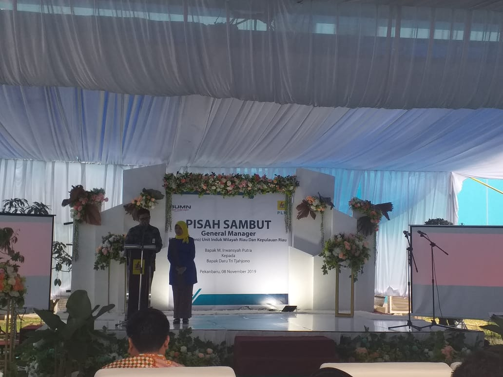Pisah Sambut GM PT PLN UIW Riau dan Kepri