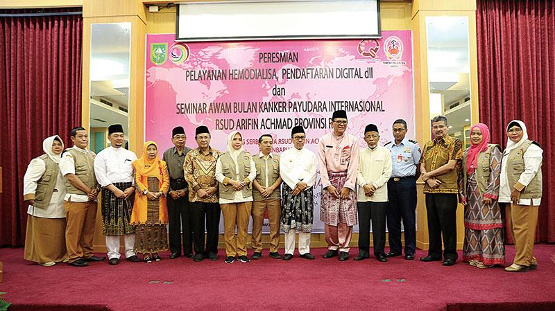RSUD Arifin Achmad Kembangkan Layanan Home Care dan Geriatri
