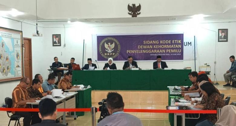 DKPP Gelar Sidang Perdana