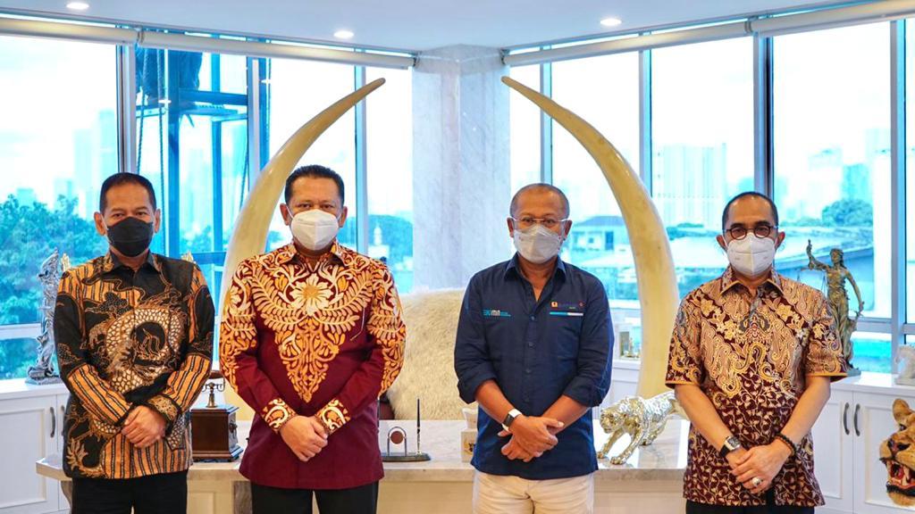Terima Direktur PT Bukit Asam, Bamsoet Apresiasi Hilirisasi Batubara