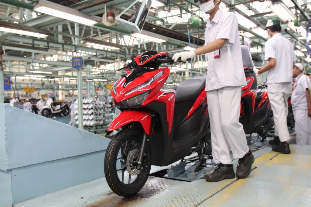 Motor Matik Honda Laris Manis di Luar Negeri