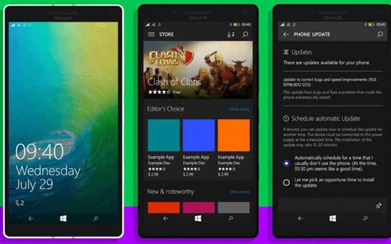 Nyerah Lawan Android dan IOS, Windows 10 Mobile Resmi Pamit