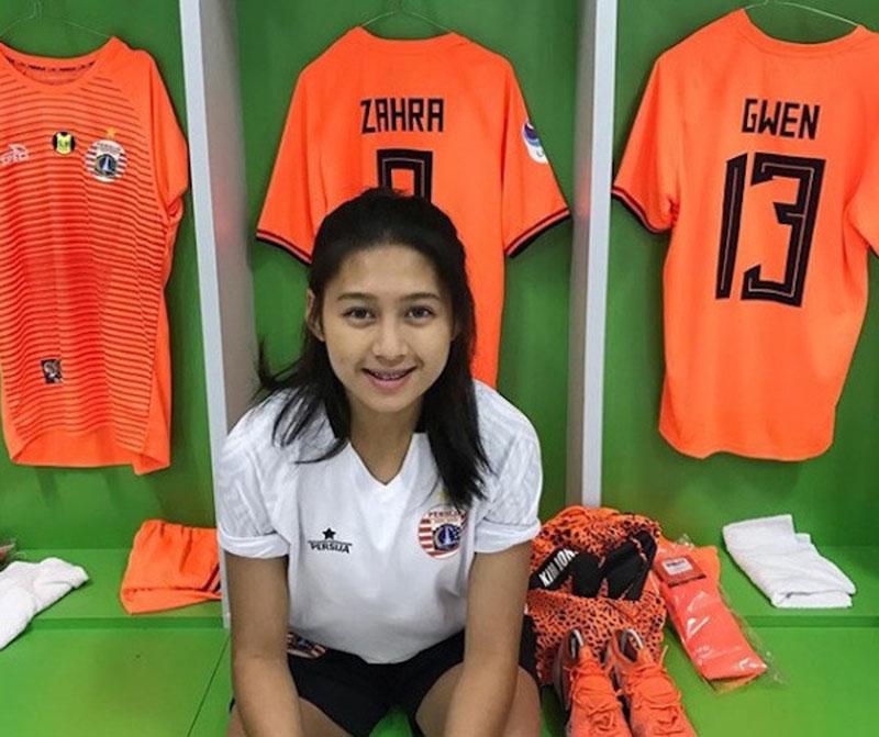 Pesepak Bola Cantik Ini Jadi Idola Pemain Timnas U-16