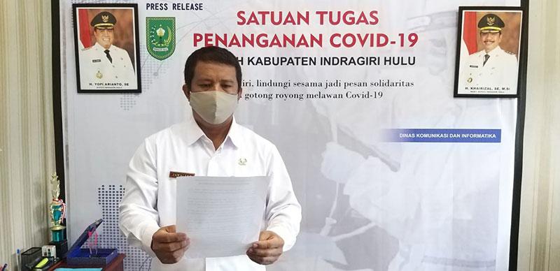 Kasus Infeksi Corona di Inhu Tembus 1.000 Orang