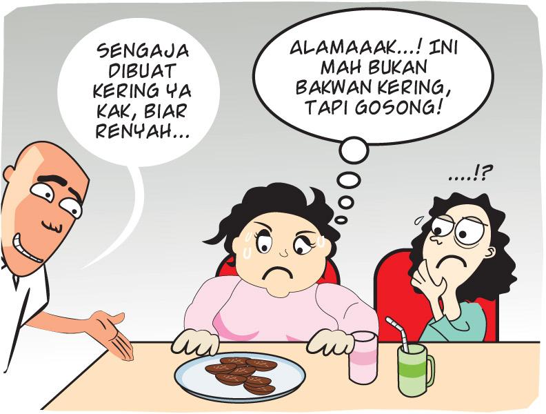 Bakwan Gosong