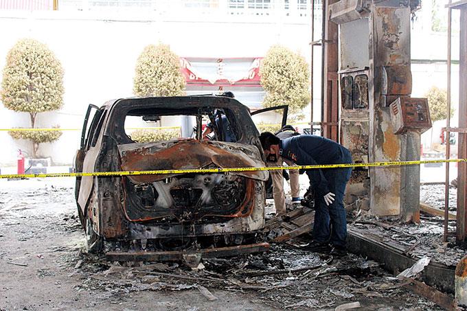Pasca Kebakaran di SPBU, Ada 12 Jeriken BBM di Dalam Mobil