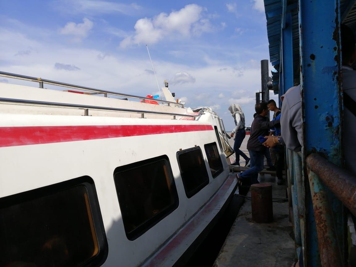 Pelabuhan Mengkapan Siak Ditutup Pemprov, Meranti Kecewa