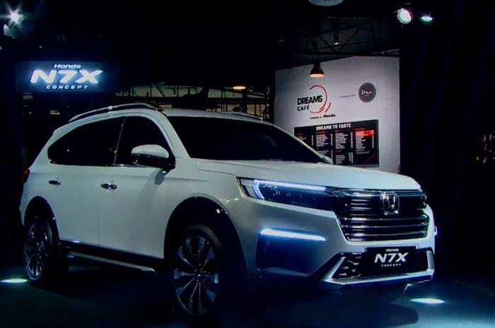 Keren, Honda N7X Siap Tantang Toyota Rush