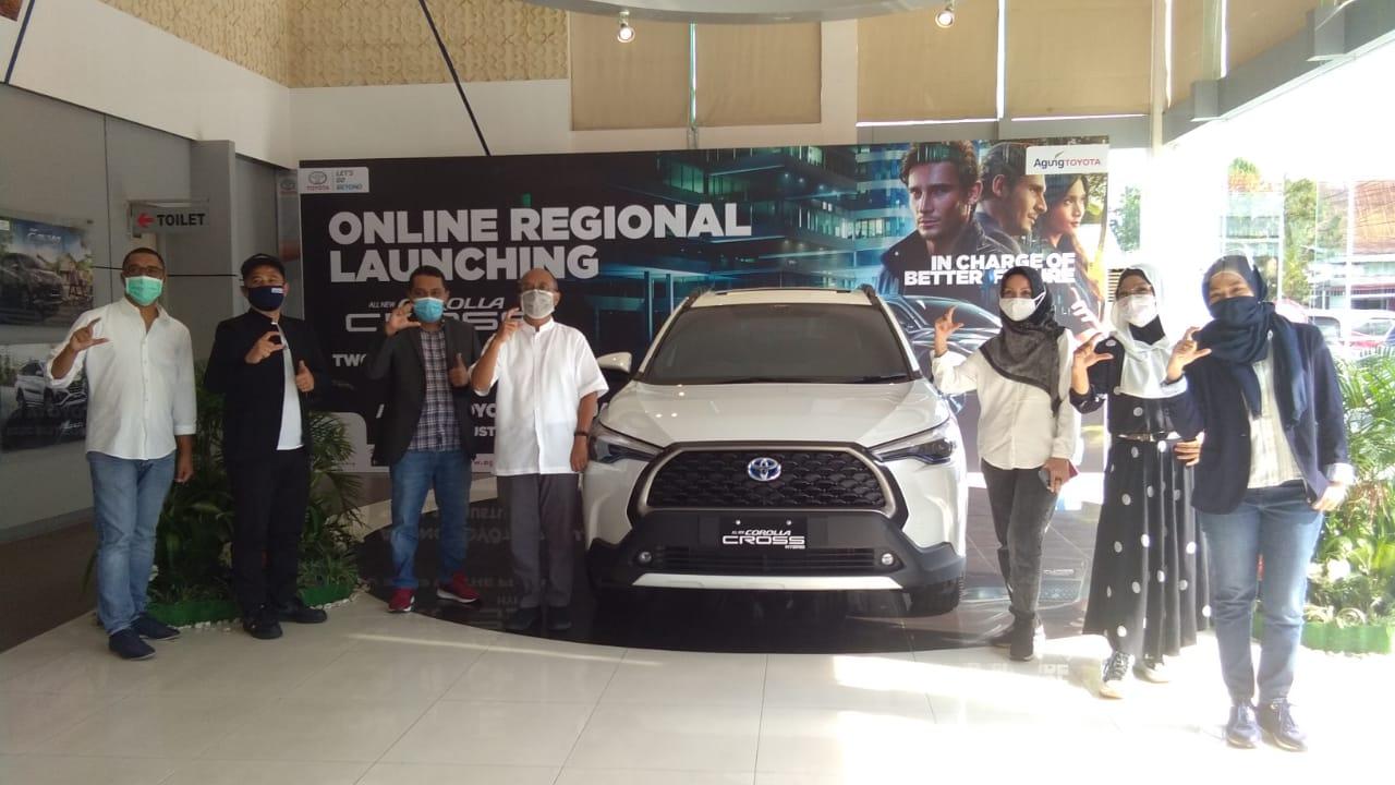 Toyota All New Corolla Cross Mengaspal di Riau