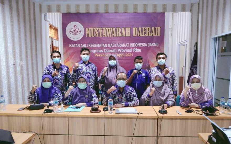 Hasil Musda IAKMI Pengda Riau, Nopriadi Terpilih jadi Ketua
