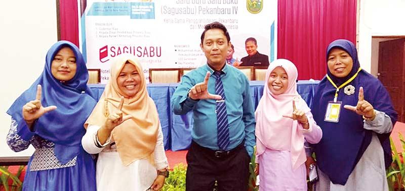 Al Izhar School Ikuti Ajang Gerakan Literasi Nasional Sagusabu