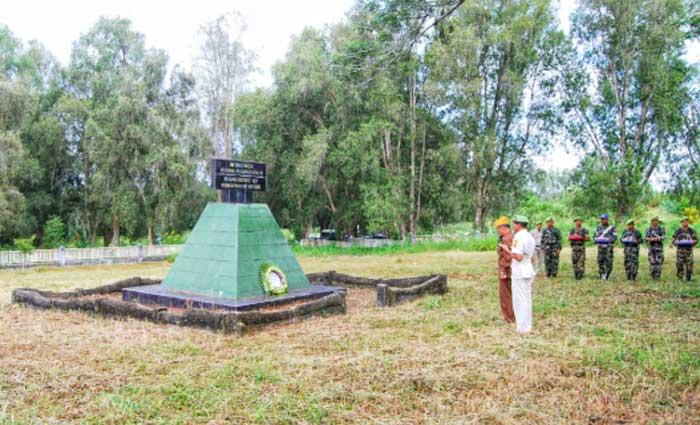 PPM Riau Desak Pemkab Bengkalis Pugar Monumen Perang Dunia II di Duri