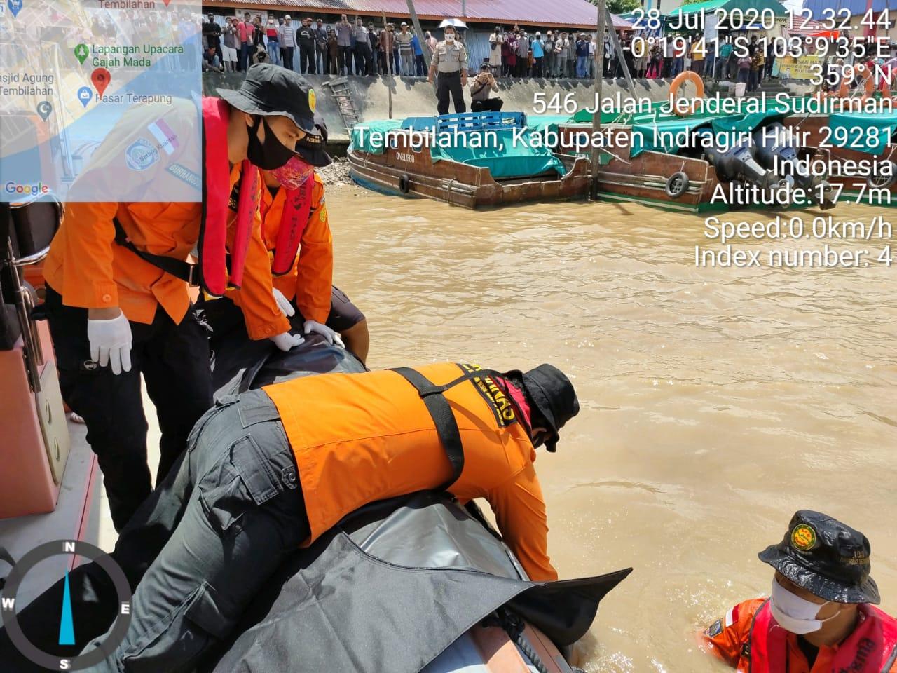 Tenggelam, Juru Parkir di Tembilahan Meninggal Dunia