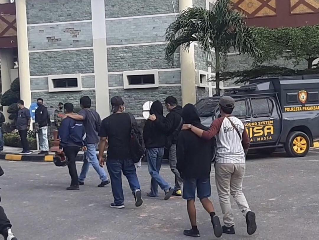 Jelang Demo, Delapan Pemuda Diamankan Polisi