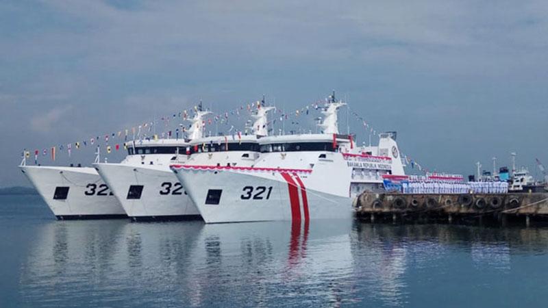 Dua Kapal Patroli Bakamla Barat Dikirim ke Natuna