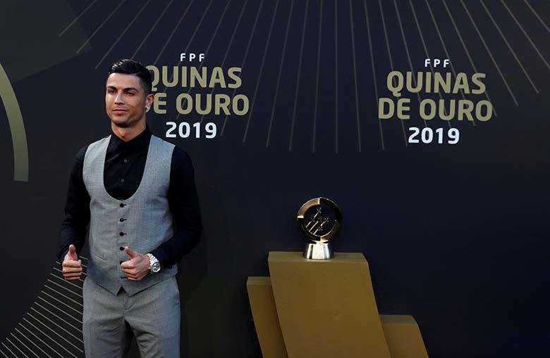 Ronaldo Sabet Gelar Ke-10 Pemain Terbaik Portugal