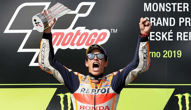 Marquez Juara di Sirkuit Brno