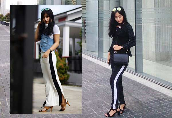 Side Stripe Pants, Racun baru Dunia Fashion