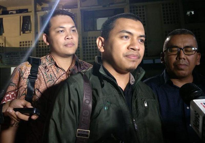 Sekum FPI Munarman Diperiksa di Polda Metro Jaya
