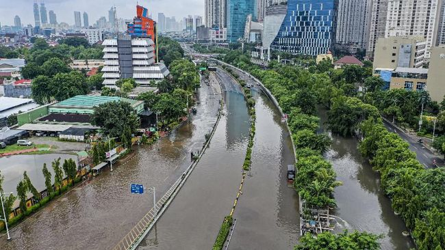Soal Banjir Jakarta, Istana Minta Anak Buah Anies Baswedan Berhenti Berpolemik