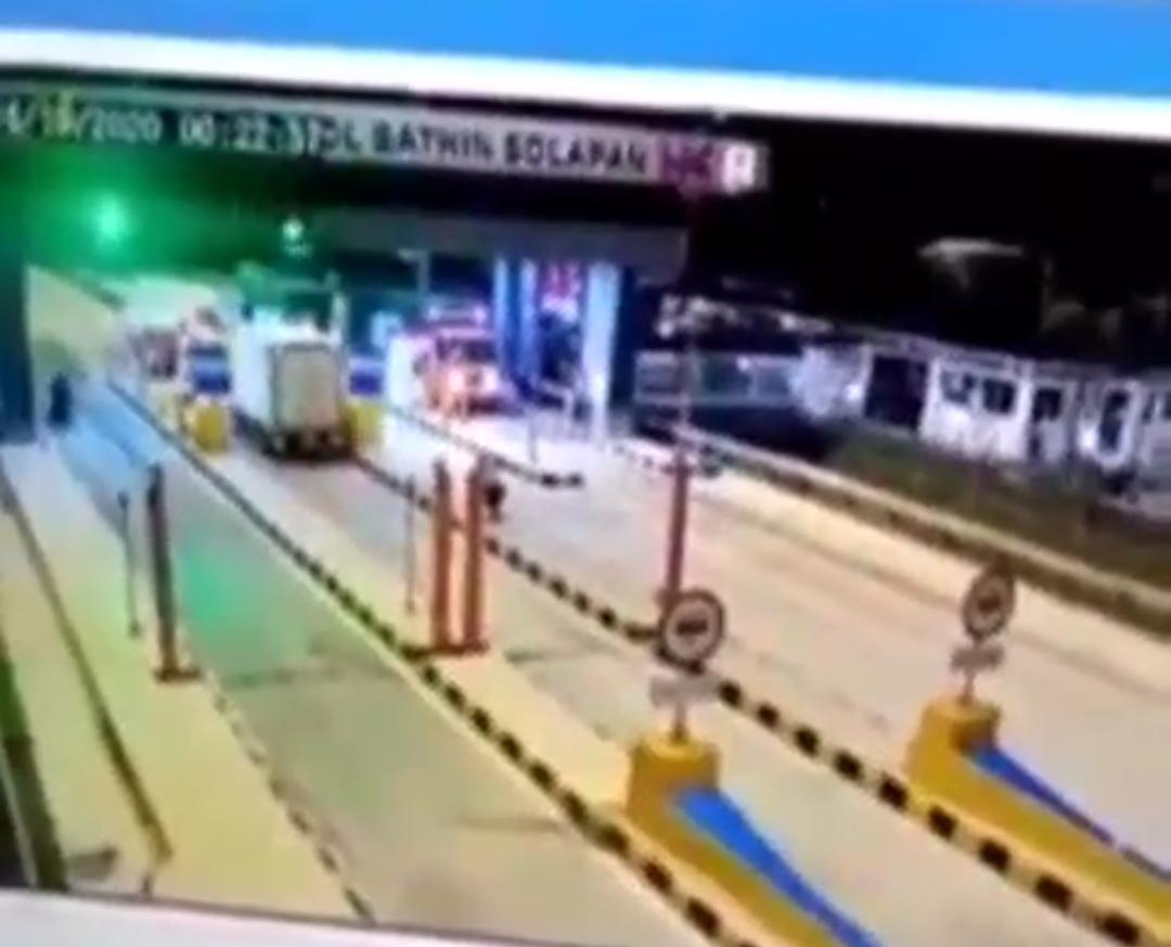Ini Penjelasan soal Video Diduga Begal di Gerbang Tol Bathin Solapan