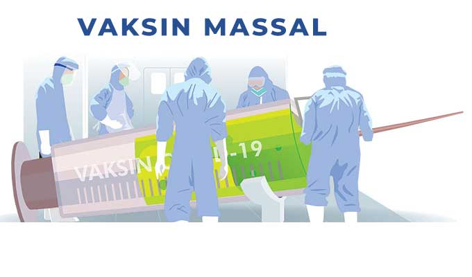 Besok, Vaksinasi Massal Jelang HUT Ke-75 Bhayangkara