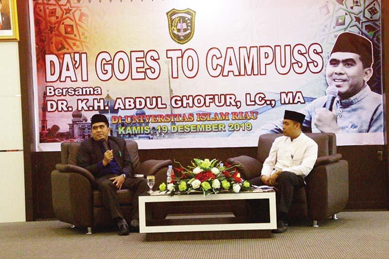 Gus Ghofur: Orang Arab Ingin Belajar ke Indonesia