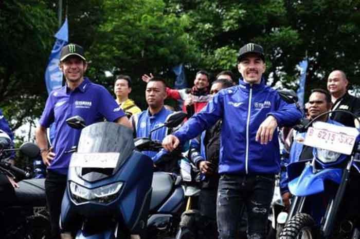 """Aku Tresno Indonesia,"" Kata Valentino Rossi"