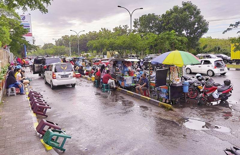 Tak Jera, PKL Sebabkan Kemacetan