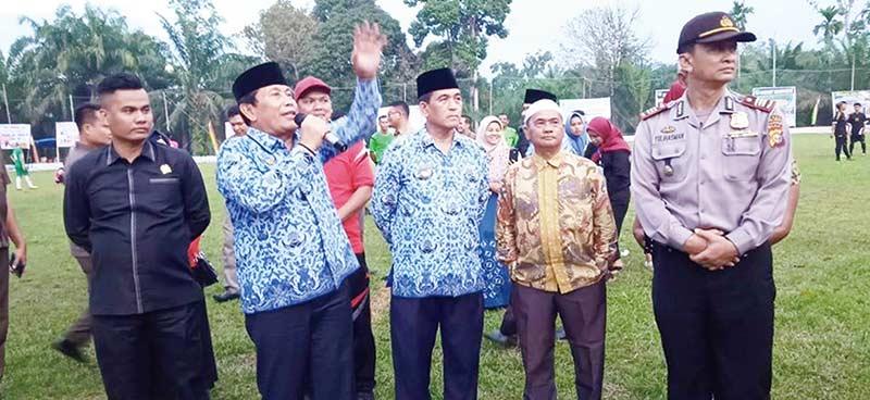 Bupati Ajak Gelorakan Olahraga di Pedesaan