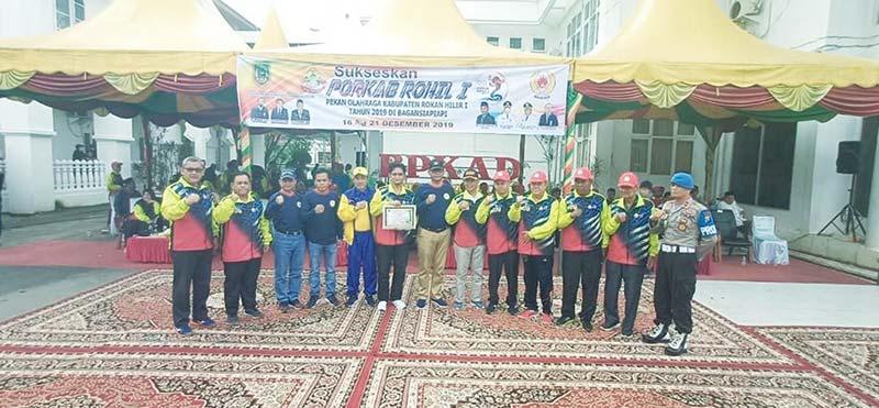 Bangko Juara Umum Porkab I 2019