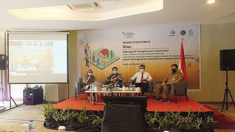 Kanwil BPN Riau Gelar Konsultasi Publik