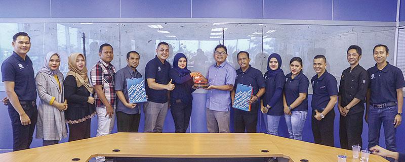 Hotel Dafam Berikan Selamat ke Riau Pos