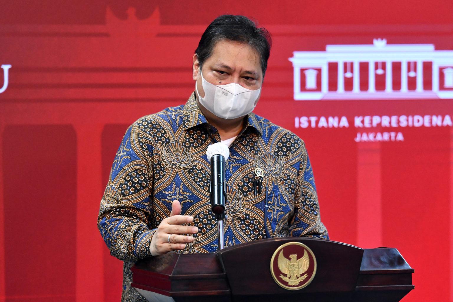 Menko Airlangga: Dampak Pandemi Berkurang Terhadap Naker Indonesia