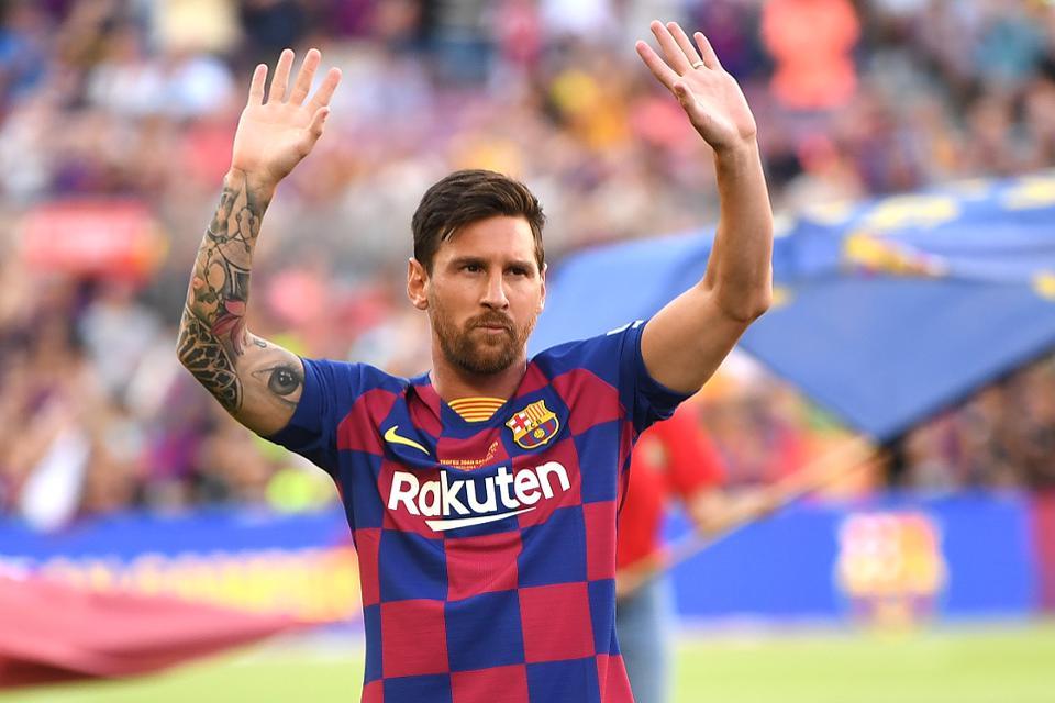 Messi Kembali Buat Rekor Baru