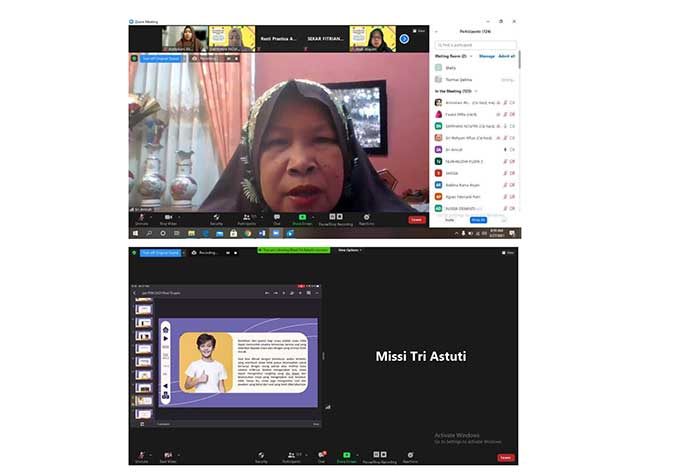 Dosen UIR Gelar PKM Online Bersama Guru SMA/SMK Se-Kabupaten Inhu