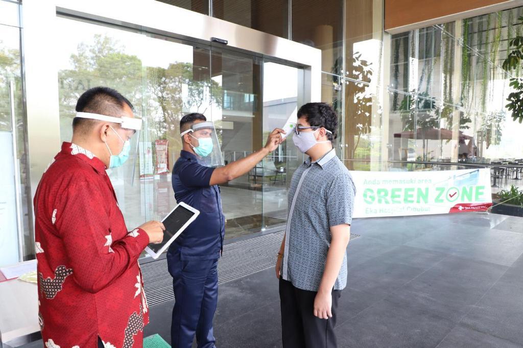 Eka Hospital Pekanbaru Jalankan Protokol Kesehatan Ketat