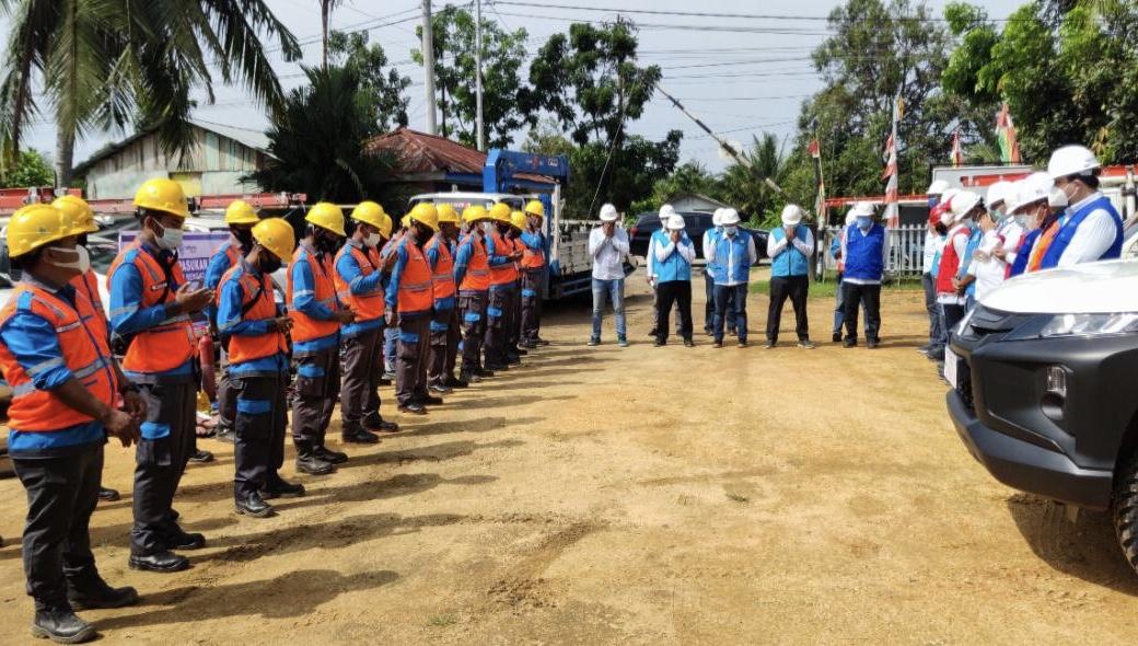 PLN UP3 Rengat Siagakan 431 Personel di 3 Kabupaten