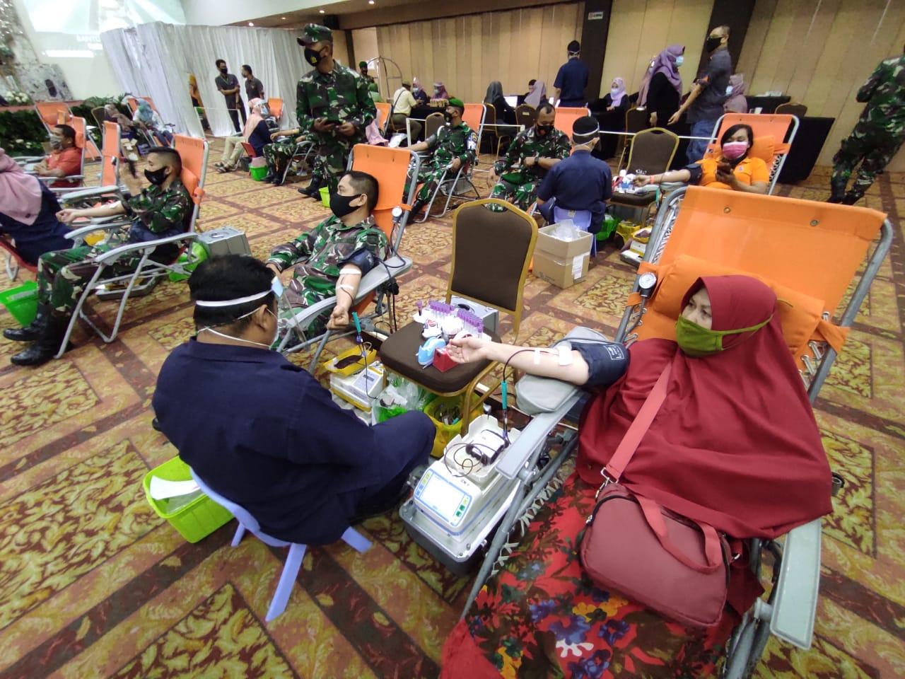 Korem 031/Wirabima Gelar Aksi Donor Darah