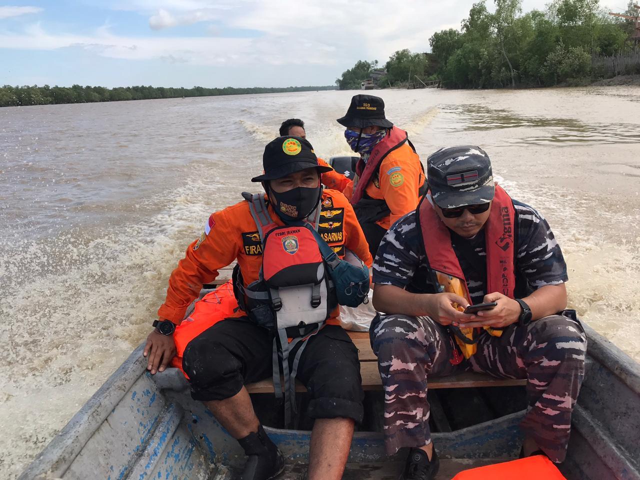 Dua dari 4 Nelayan Hanyut Kecelakaan Boat Karam Belum Ditemukan