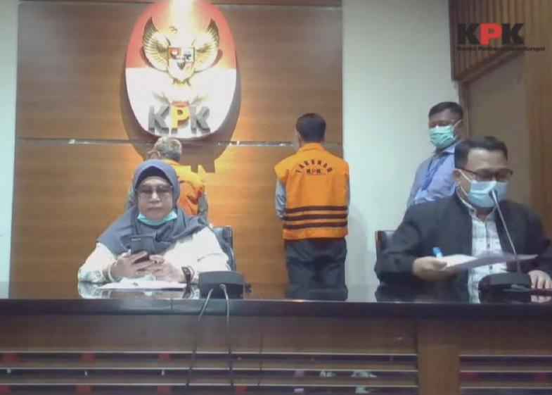 KPK Tahan Dua Tersangka Korupsi Jembatan WFC Bangkinang