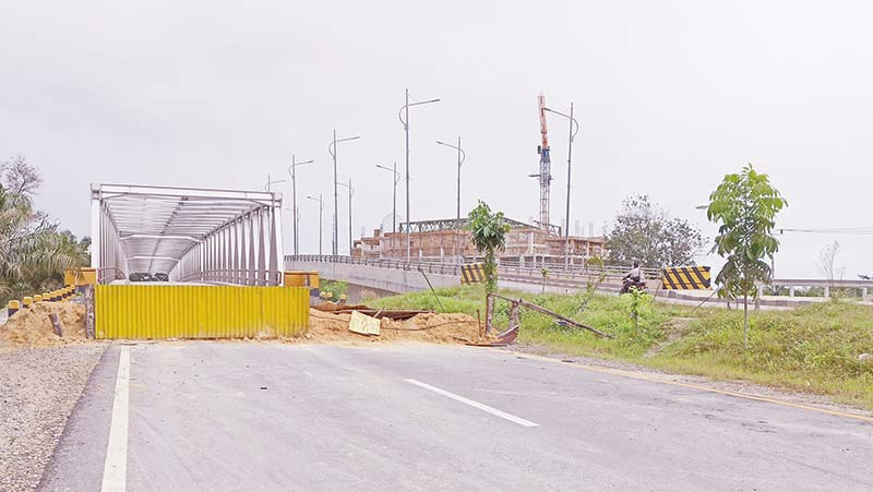 Jembatan Siak II Masih Ditutup