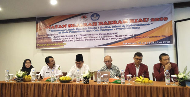 Asosiasi Guru Sejarah Indonesia Provinsi Riau Melaksanakan Iven Laseda Riau 2019