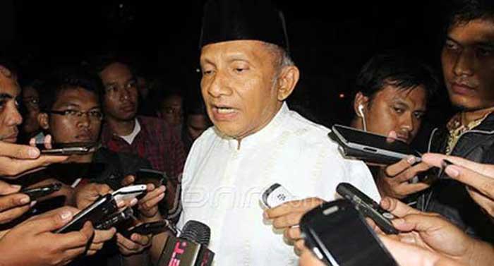 Amien Rais Sebut Joko Widodo Ibarat Presiden Bebek Lumpuh