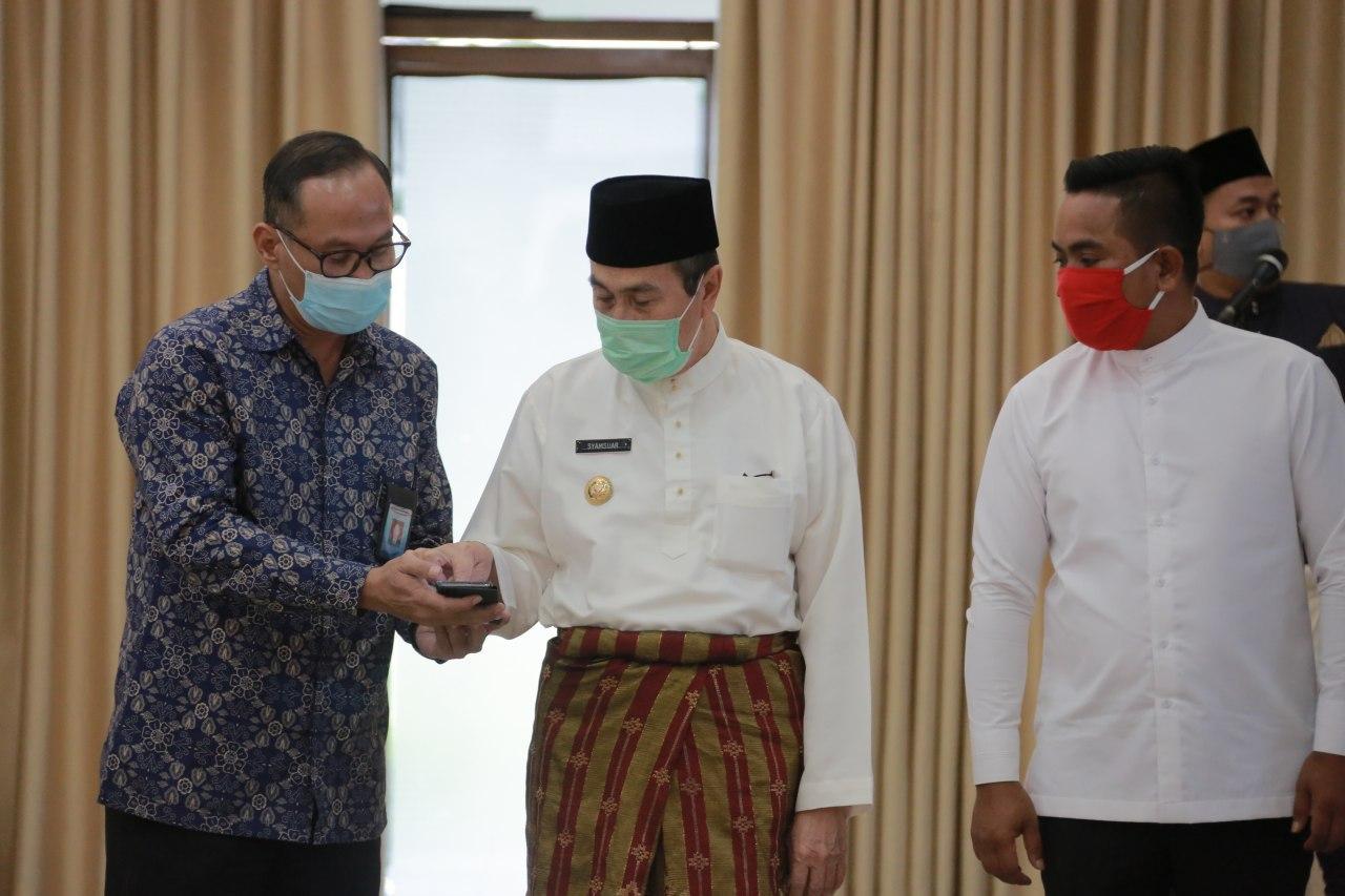 Pantau Penyaluran Bansos di Riau Melalui Aplikasi Ini