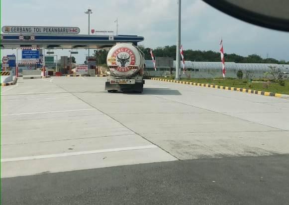 Tol Pekanbaru-Dumai Habiskan 300 Ribu Ton Semen OPC dari Semen Padang