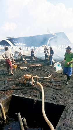 Pabrik Sagu TerbakarKerugian Capai Rp2 M