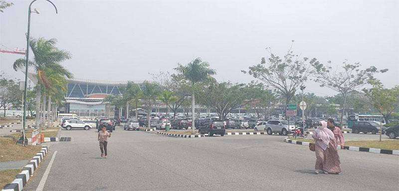 Aktivitas Bandara SSK II Pekanbaru Normal